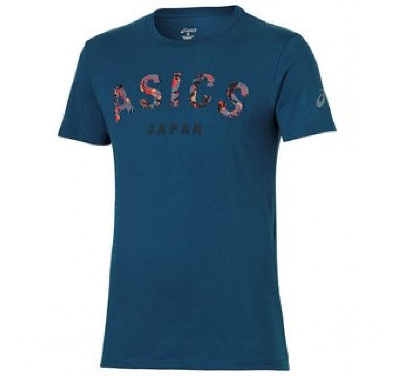 Футболка ASICS CAMOU LOGO SS TOP 131529-0053